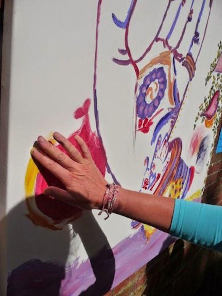 hand schilderij website